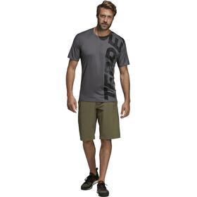 adidas TERREX Trail Cross T-paita Miehet, grey five
